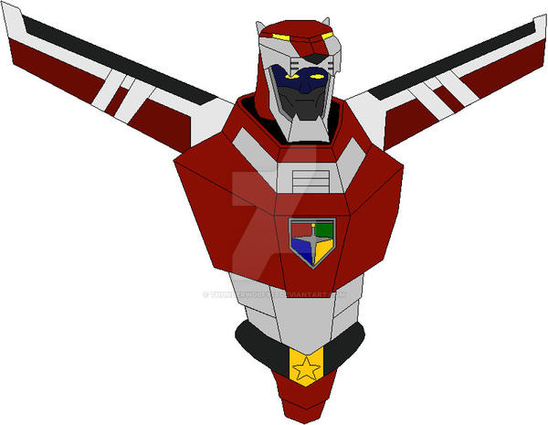 Green Lion Voltron Voltron Force Red Cent...