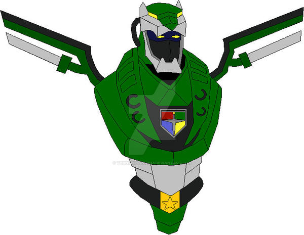 Green Lion Voltron Voltron Force Green Ce...