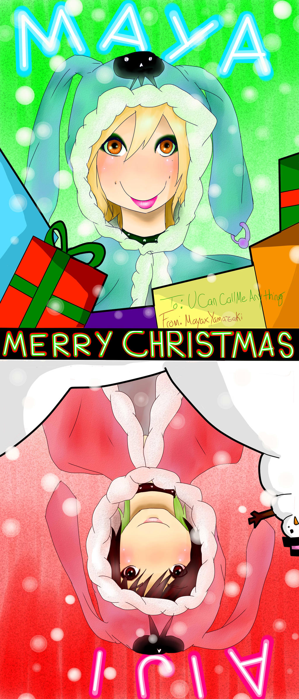 LM.C SECRET SANTA by MAYAxYAMAZAKI