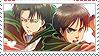 Shingeki no Kyojin Stamp by LinaLeeL