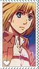 Shingeki no Kyojin Armin Stamp by LaraLeeL