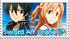 Sword Art Online Stamp by LaraLeeL