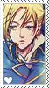 Shingeki no Kyojin Annie Stamp by LaraLeeL