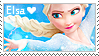 Frozen - Elsa Stamp by LaraLeeL
