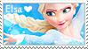 Frozen - Elsa Stamp by LaraLeeL