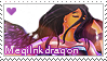 Megiinkdragon Stamp by LaraLeeL