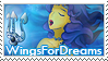 WingsForDreams Stamp by LinaLeeL