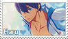 Free! Stamp -  Haru by LinaLeeL