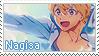 Free! Stamp - Nagisa by LaraLeeL