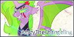 AmzyTheChangeling Banner by LaraLeeL