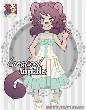 OPEN Chibi Adoptable by LaraLeeL