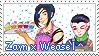 Zayn x Weasel Stamp by LaraLeeL