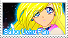 Sailor Uchu Fan Stamp by LaraLeeL