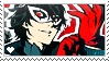 Persona 5 Stamp by LaraLeeL