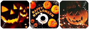 Halloween Divider by LaraLeeL