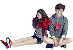 Render  Krystal Jung [ f(x) ] and Jong Suk Lee