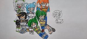 [REQUEST] Ash's Anthro Pokegirls
