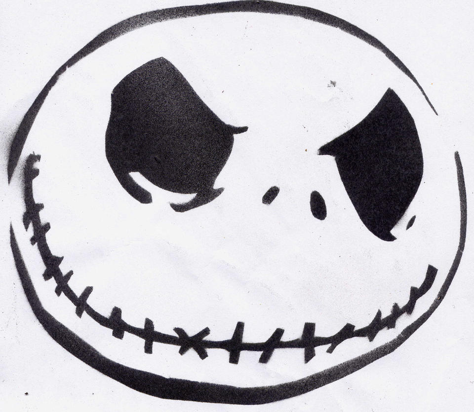 Zero Nightmare Before Christmas Stencil bigking keywords and pictures