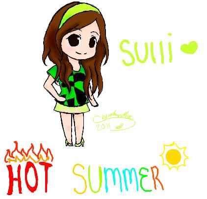 Sulli fx - Hot Summer by SerahnetteFx Sulli Hot Summer