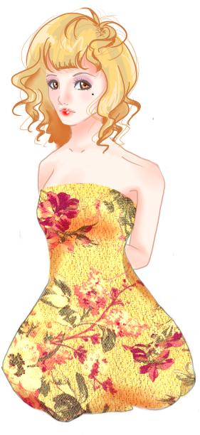 Rawr's (Serah) Art Thread Mirabelle_floral_dress_by_serahnette-d4mmpha