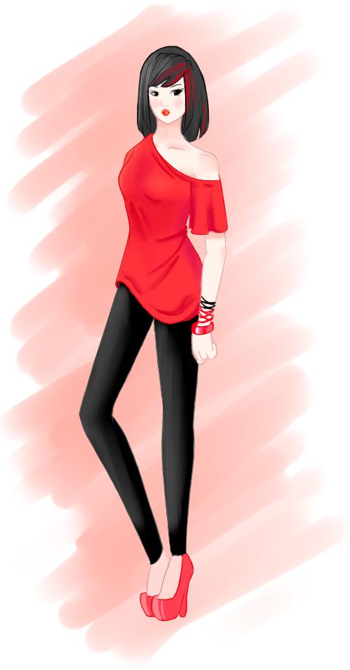 Rawr's (Serah) Art Thread Red_by_serahnette-d4q3em4