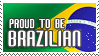 Selo 1: Proud to be by brasil