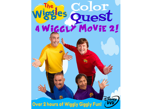 The Wiggles Movie 2 US 2019 Disney DVD (Front)