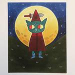 Mae Borowski/Witch Dagger! by michael-barton