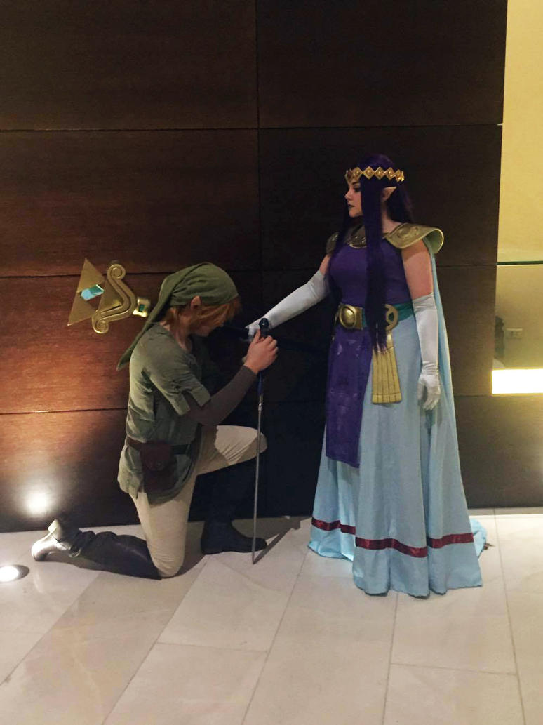 Knighting a Hero by Kimmi-Cosplay