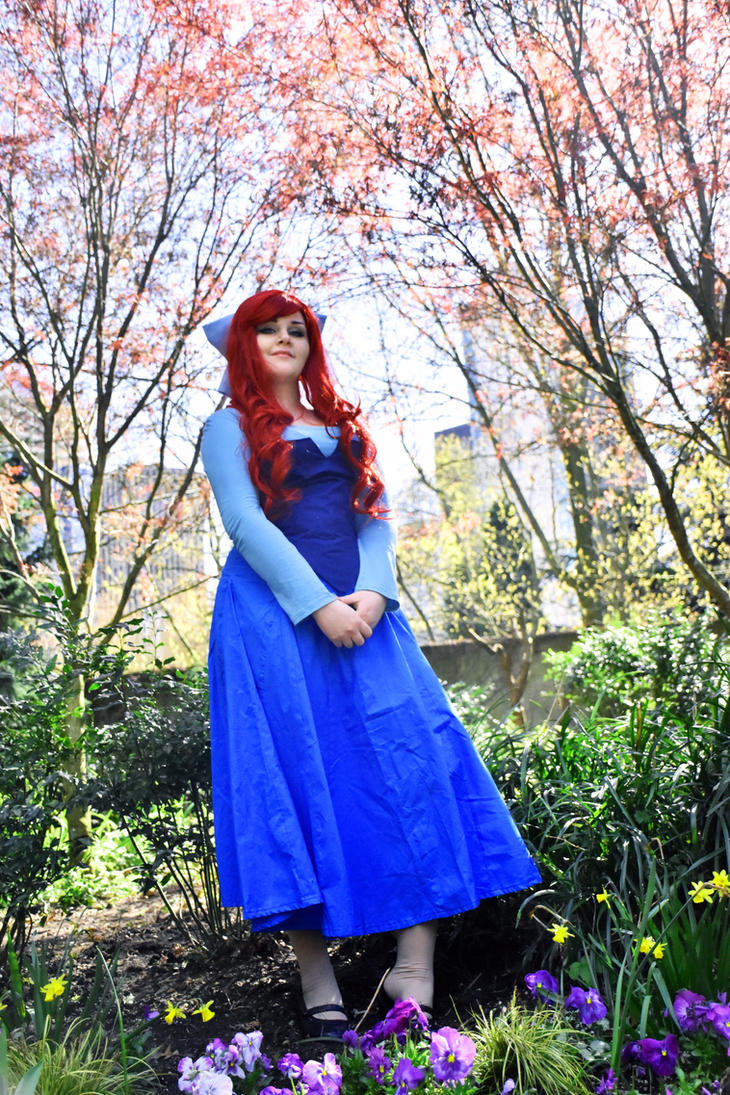 Blue Dress Ariel by Kimmi-Cosplay