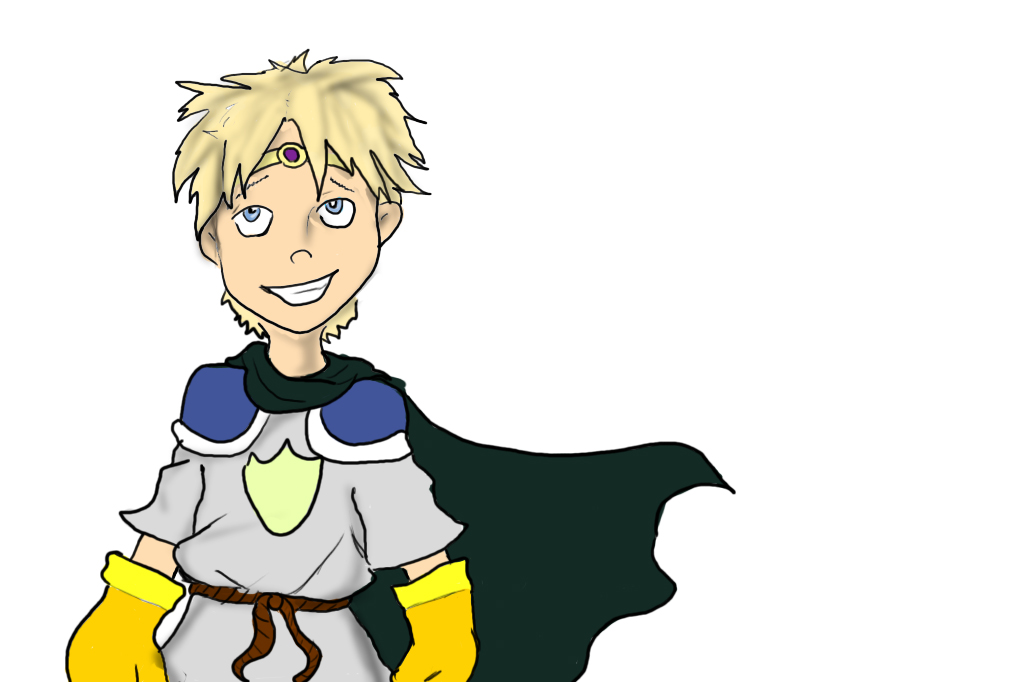 Sir Butters the Paladin by DanMizelle