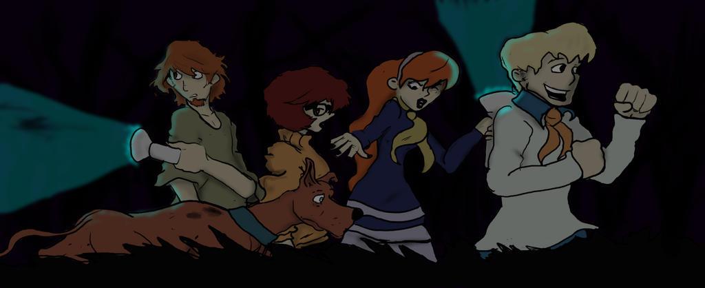 Scooby Gang by DanMizelle