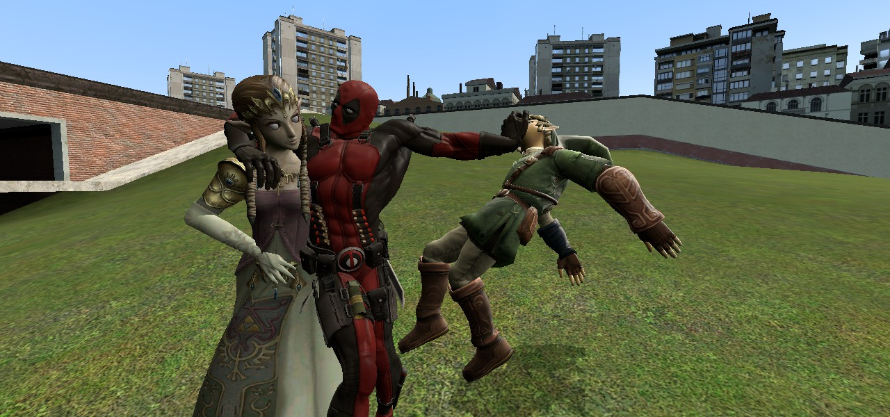 playing around with GMOD by DanMizelle