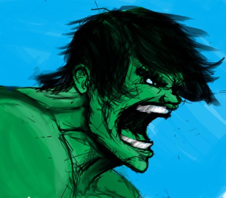 Hulk by DanMizelle