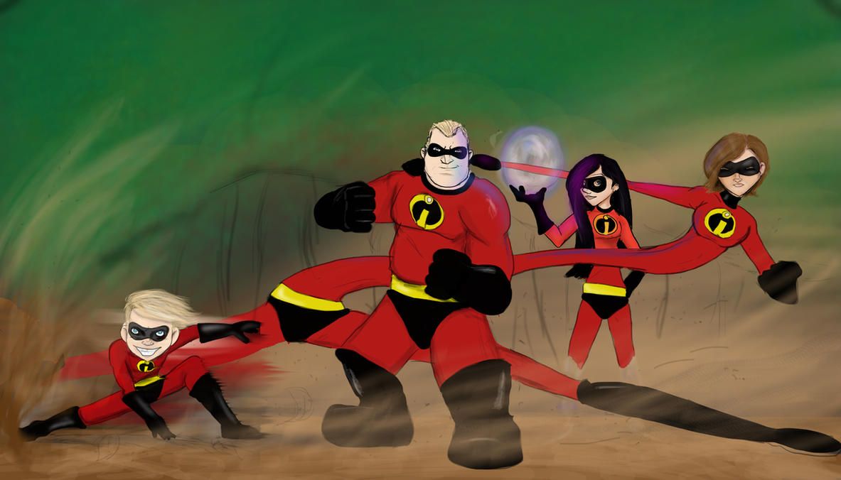 The Incredibles by DanMizelle