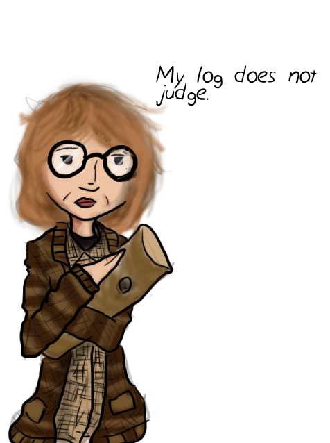 The Log Lady by DanMizelle