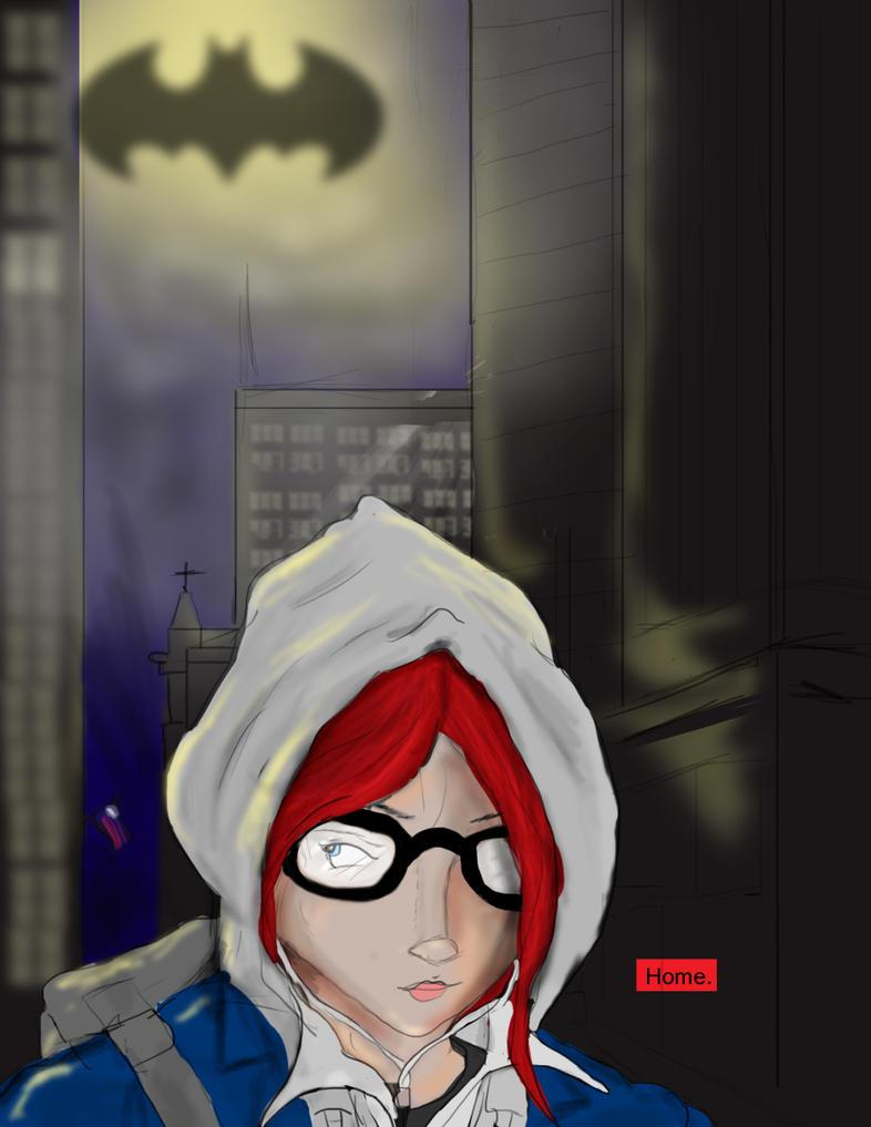 Barbara Comic WIP by DanMizelle