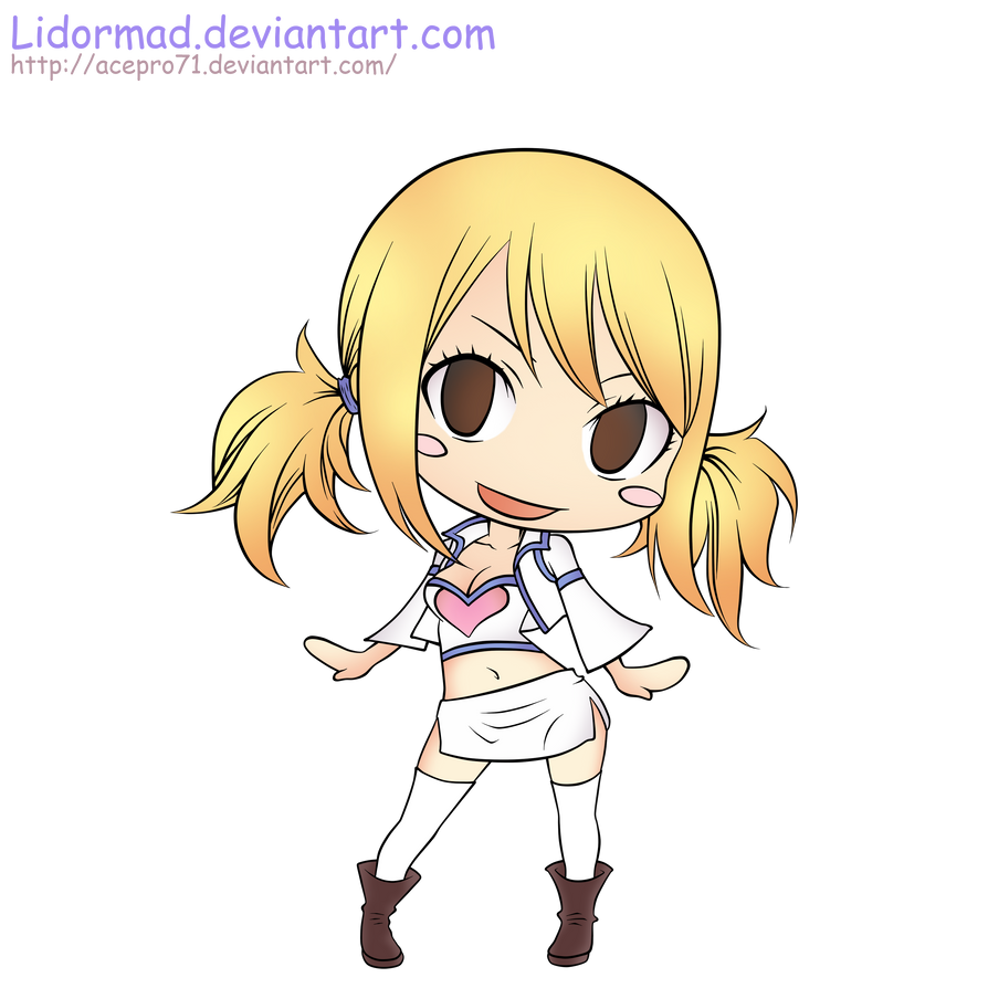 Chibi Lucy by acepro71 on deviantART