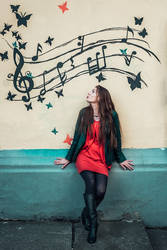 Music gets the best of me by antoanette
