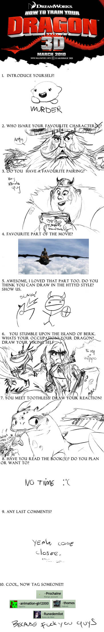 Meme: How to Train Your Dragon