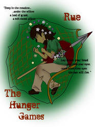 Rue- The Hunger Games by Kcie-Aiko