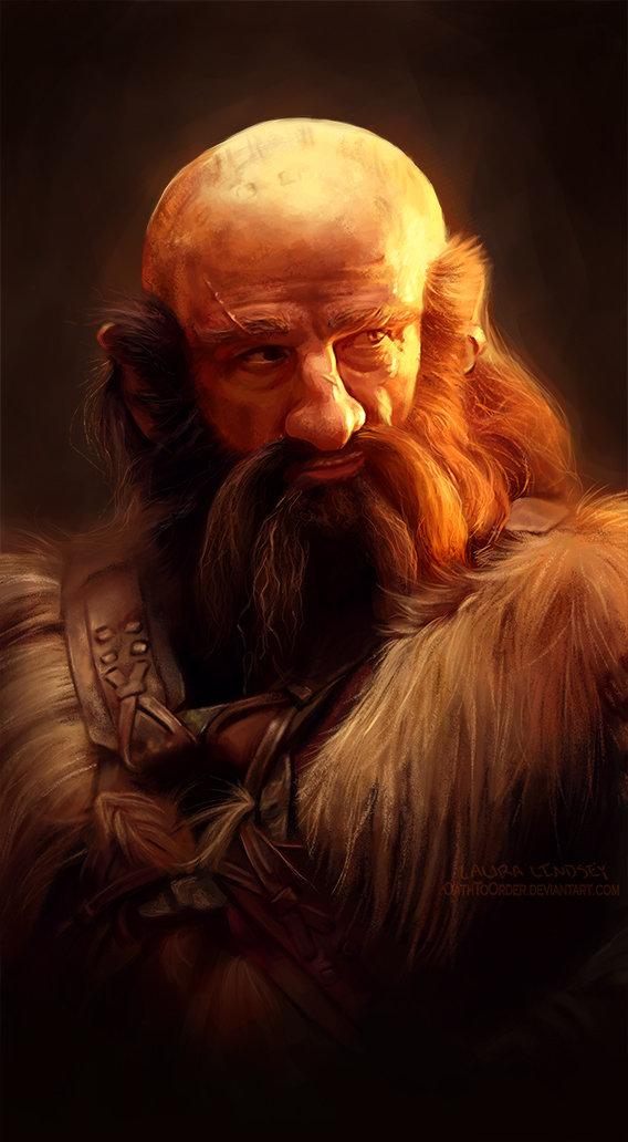 dibujos - el Hobbit  impresionantes dibujos Mistah_dwalin__by_oathtoorder-d60ghmz