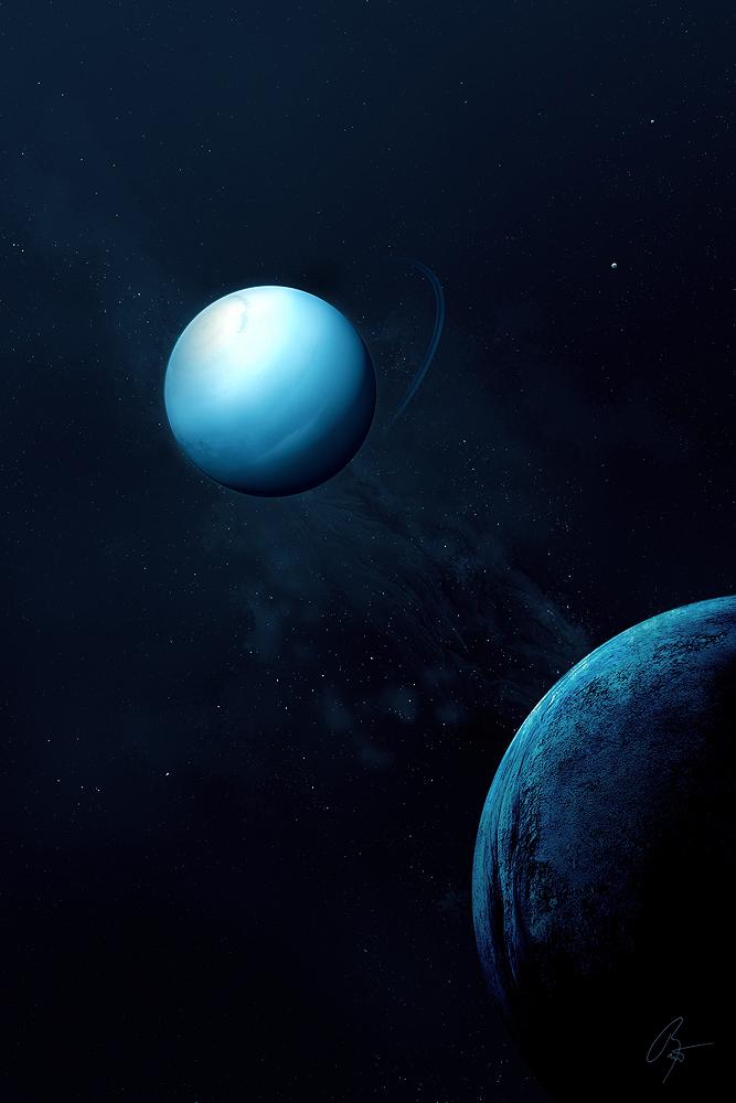Uranus by JoeyJazz