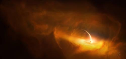Beneath the Clouds of Titan by JoeyJazz