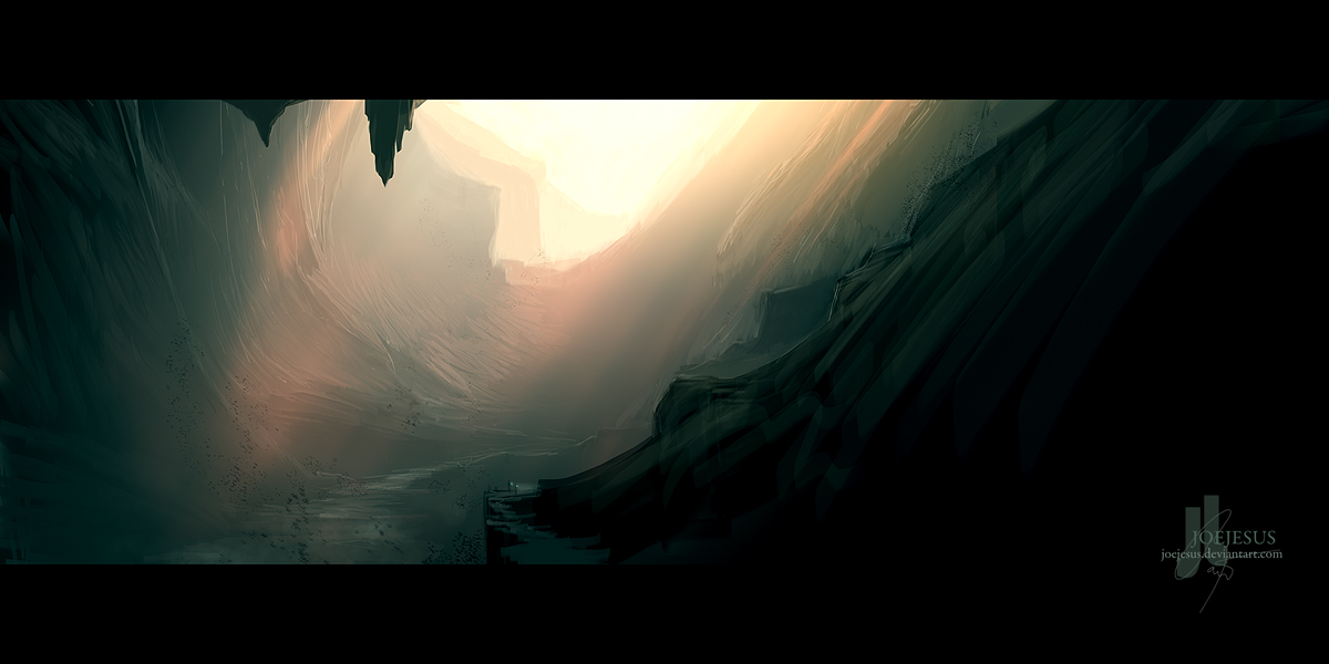 Cavern -concept- by JoeyJazz