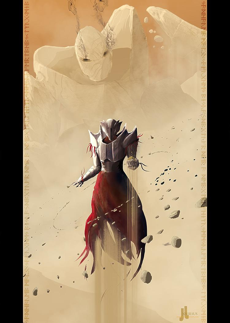 Earth Element - Sand Wraith by JoeyJazz