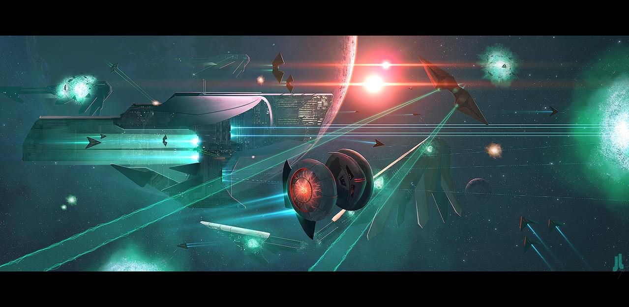Skirmish by JoeyJazz