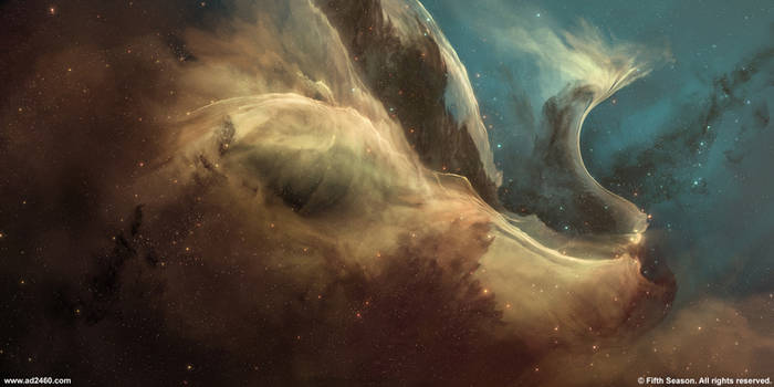 Sector nebulae 1 - The Swan Nebula