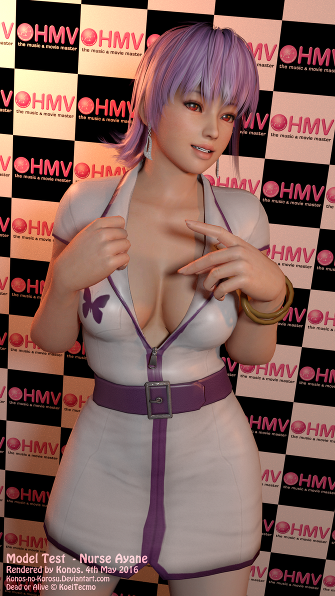 Model Test - Nurse Ayane by Konos-P