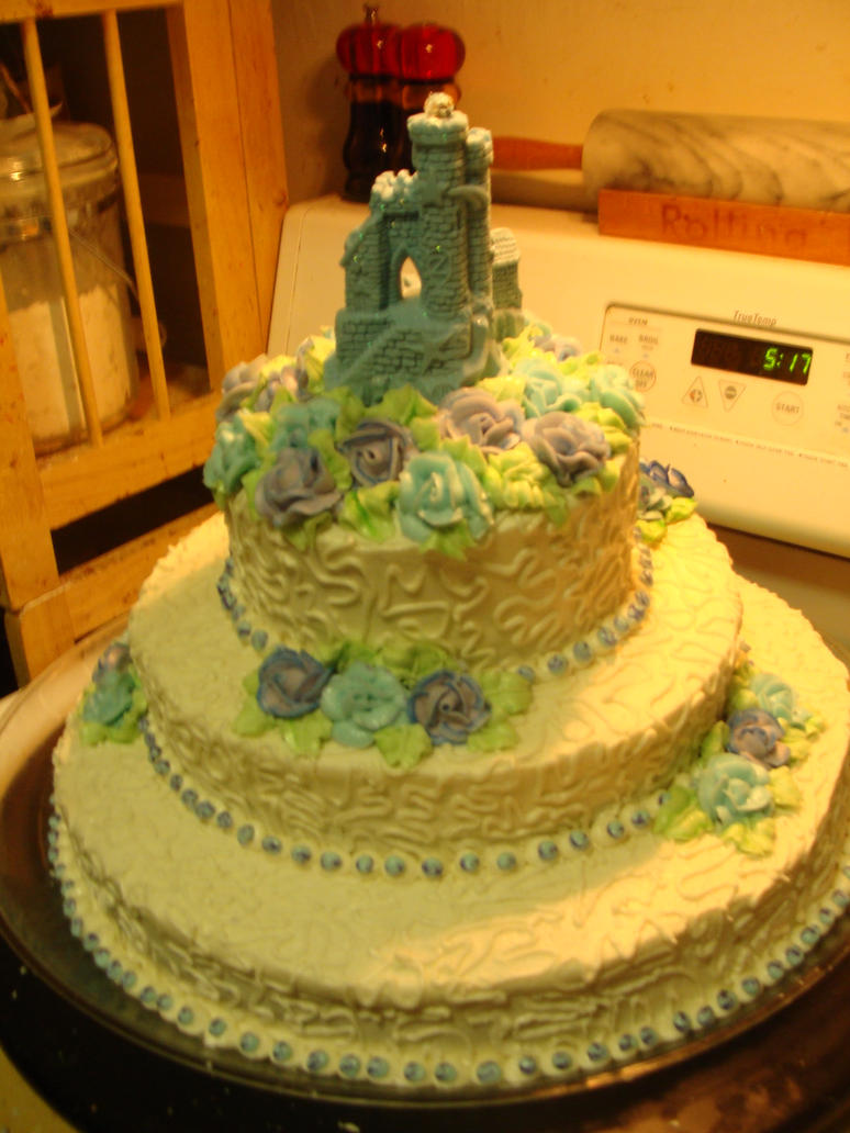 Medieval Wedding Cake 2 by LadyCrimsonRose on DeviantArt